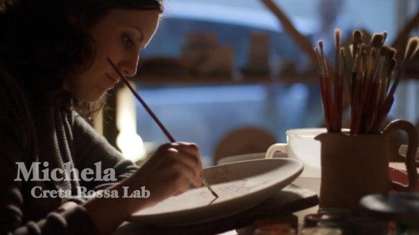 Michela,  Creta Rossa Pottery Laboratory